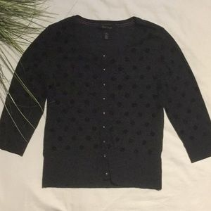 White House Black Market Snap Cardigan.  NWOT